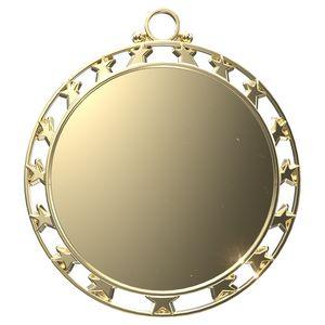 Custom Bright 17 Star Border Insert Medallion (2-1/2