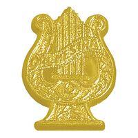 Orchestra Bright Gold Chenille Lapel Pin
