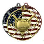 Custom Patriotic Medallions 2-3/4