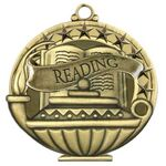 Custom Reading Academic Performance Medallion