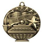 Custom Star Performer Academic Performance Medallion
