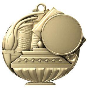 Custom Book & Lamp Academic Performance Medallion