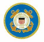 Custom Coast Guard Double Sided Coin (1-3/4