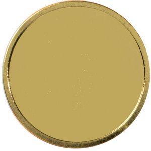 Round Lapel Pins w/ Military Clutch (1-1/4