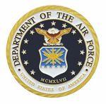 Custom Air Force Double Sided Coin (1-3/4