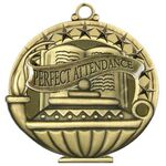 Custom Perfect Attendance Academic Performance Medallion