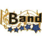 Band Music Award Lapel Pin (1-1/4