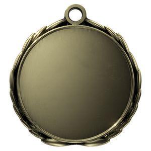 Custom Antique 3D Wreath Insert Medallion (1-1/2