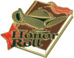 Gold Honor Roll Lapel Pin (1-1/4