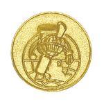 Scholastic Bright Gold Chenille Lapel Pin