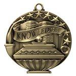Custom Knowledge Academic Performance Medallion