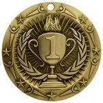Custom Antique 1st Place World Class Medallion (3