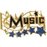 Custom Music Award Lapel Pin (1-1/4