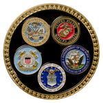 Custom Military Coin (All 5 Branches)