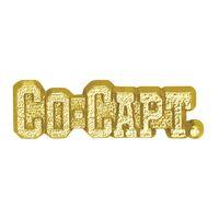 Co-Captain Bright Gold Chenille Lapel Pin