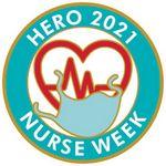 Nurse Week Round Vibraprint™ Lapel Pins (1