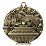 Custom Music Academic Performance Medallion