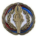 Custom Antique Victory Color Epoxy Medallion (2-1/2