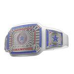 Custom Ultimate Championship Belt in White