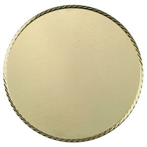 Custom Bright Gold Double Sided Coin (3-1/8