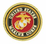 Custom Marine Double Sided Coin (1-3/4