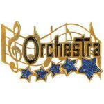 Custom Orchestra Music Award Lapel Pin (1-1/4