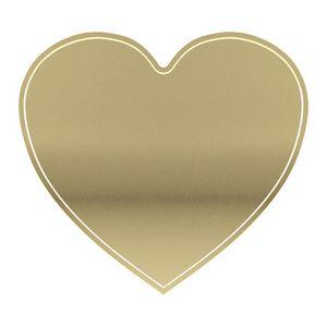 Heart Lapel Pin w/ Standard Magnet Back (1-3/8