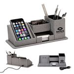 Custom Amridge Wireless Charging Desk Organizer