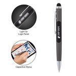 Custom Light Up Ballpoint Pen/Stylus