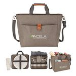 Custom Del Mar Picnic Set & Cooler Tote
