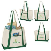 Tuscany Natural Canvas Tote