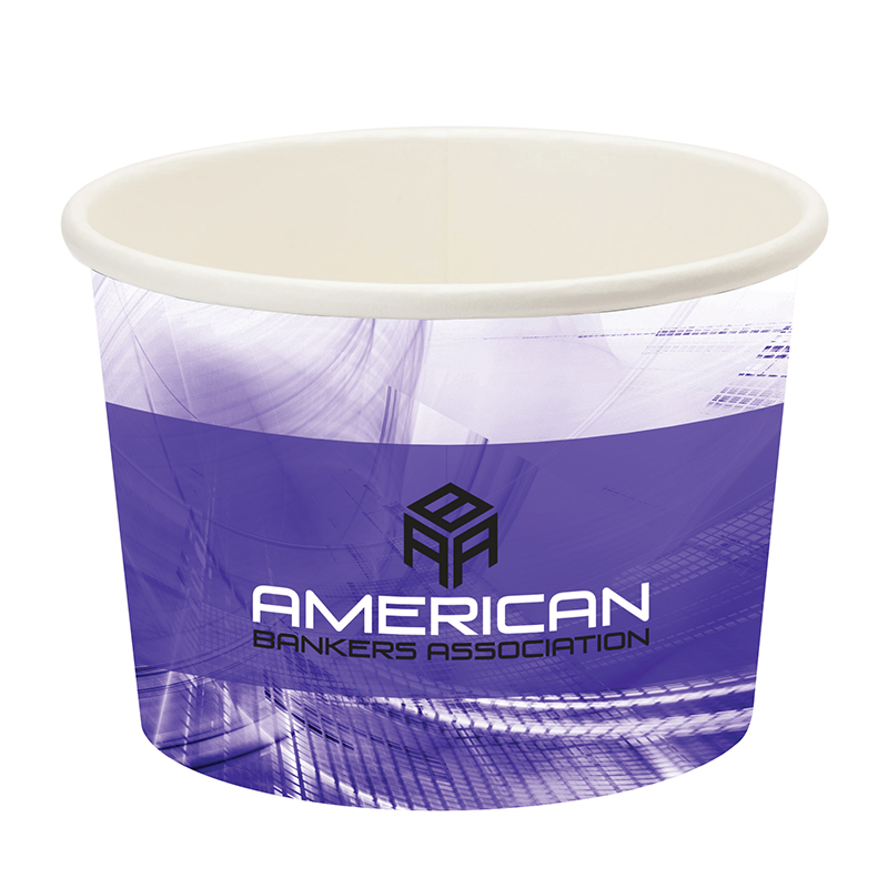 Prka 16oz Snack/Ice Cream Paper Cup