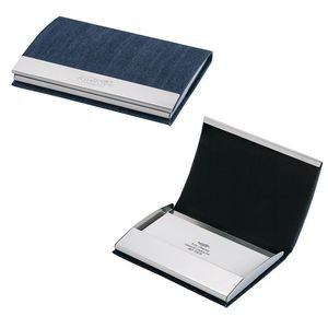 Custom promotional products advertising and promotional products utah denim business card case colourmoves