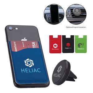 Azusa Phone Wallet / Car Vent Holder