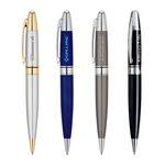 Custom Presido Gloss Finished Brass Ballpoint Pen w/Twist Mechanism