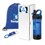 Custom Workout 3-Piece Fitness Gift Set