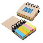 Custom Regency Sticky Notes & Flags Notebook