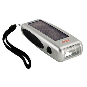 Custom Printed Solar Powered Flashlights!