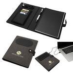 Custom Navigate Notebook w/ Wireless Phone Charger
