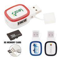 Tapa II Dual-Port 2.0 USB Hub with 8G Memory
