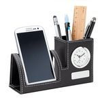 Custom Clock, Phone Holder & Pen Cup