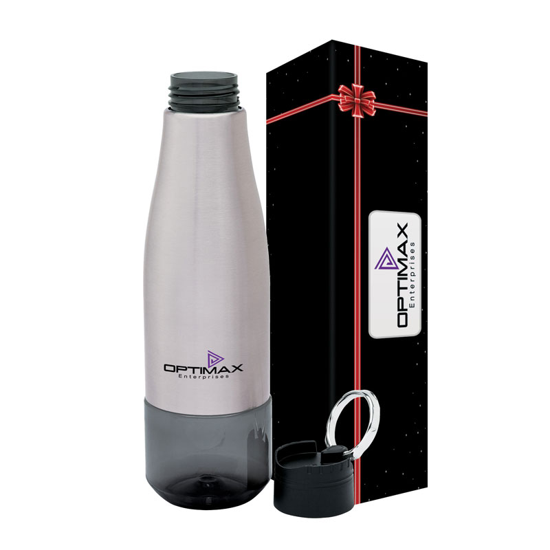 Luxe 26 oz. Tritan Water Bottle & Packaging