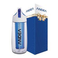 Cruise 28 oz. Tritan Bottle w/ Flip Spout, Straw & Infuser & Packaging