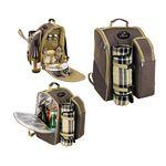 Custom 2 Person Picnic Backpack Set