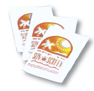 SPF15 Sunblock Packet