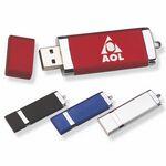 Custom Traveler Flash Drive with Key Chain (64 MB)