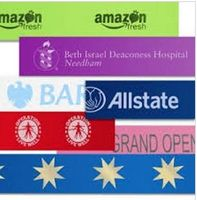 "4"" X 10 ft Custom Imprinted Ceremonial Ribbon"
