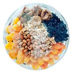 Custom Dried Fruit and Healthy Deluxe Gourmet Gifts Metal Tray