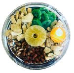 Custom Dried and Healthy Deluxe Gourmet Gifts Metal Tray