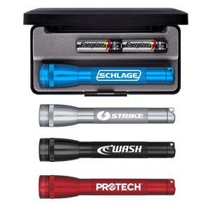 Custom Printed AA Battery Maglight Flashlights!